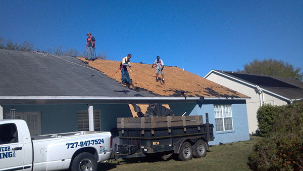 roof removal new port richey